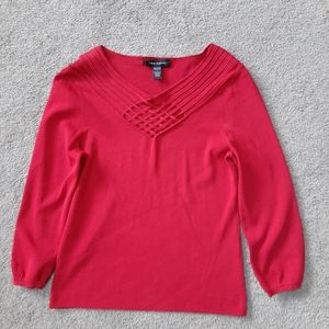 ❤BOGO❤ Cable & Gauge Red Sweater